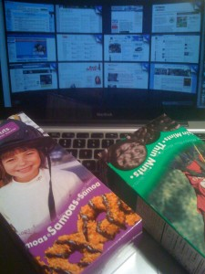 Girl Scout Cookies and Computer Crash